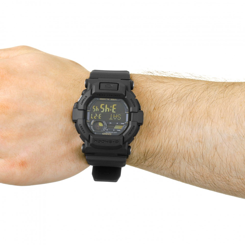 85bf33b46 Mens Casio G-Shock Vibrating Timer Alarm Chronograph Watch GD-350-1BER