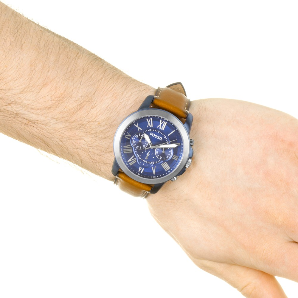 cfe660a0a1d4 Mens Fossil Grant Chronograph Watch FS5151