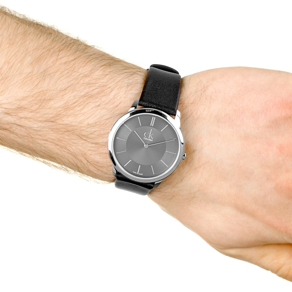 2e3c5114ff3 Mens Calvin Klein Minimal 40mm Watch K3M211C4