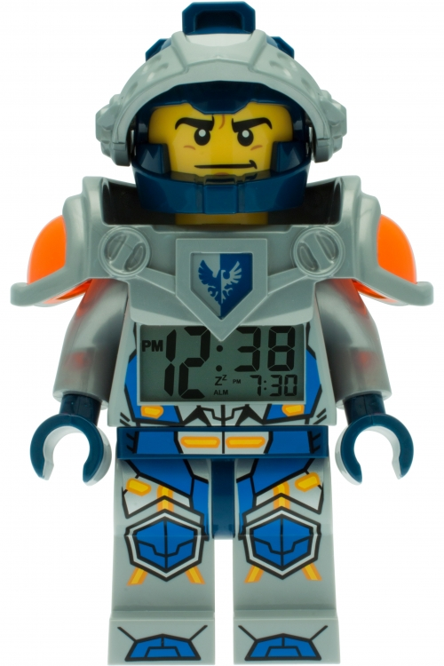 LEGO Nexo Knights Clay Minifigure Alarm Clock 9009419