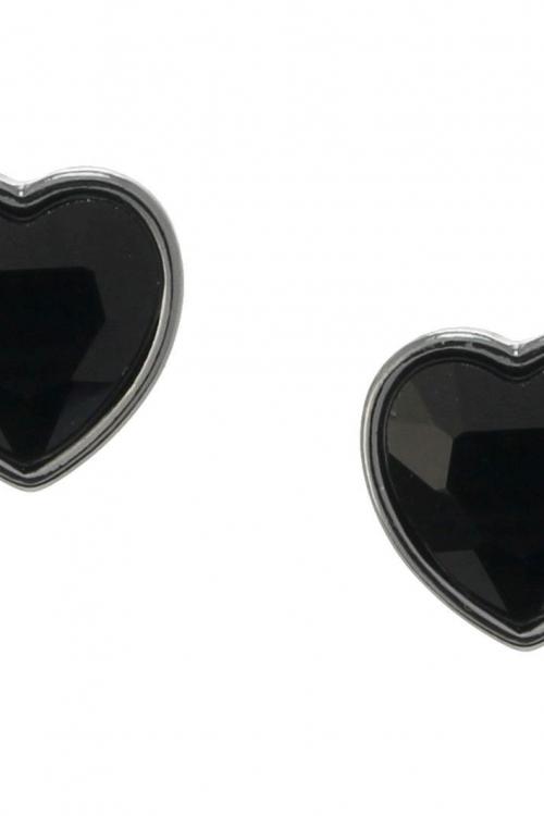 Lipsy Jewellery Heart Stud Earrings JEWEL 8396
