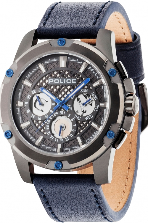 Mens Police Grid Chronograph Watch 14689JSU/13