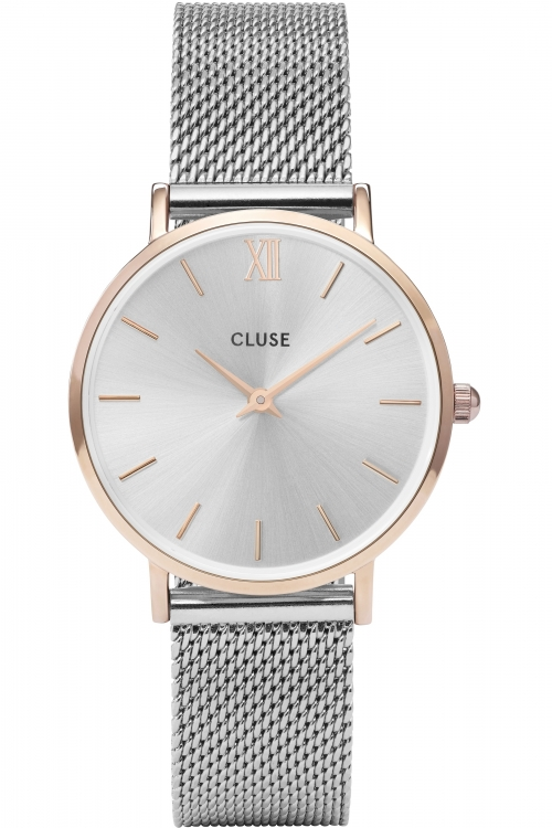 Women's Watches Ladies Cluse Minuit Mesh Watch CL30025