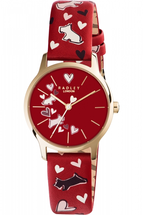 Ladies Radley Love Me Love My Dog Watch RY2474