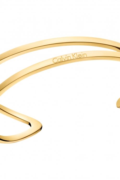 Image of            Calvin Klein Extra Small Outline Bangle KJ6VJF1001XS