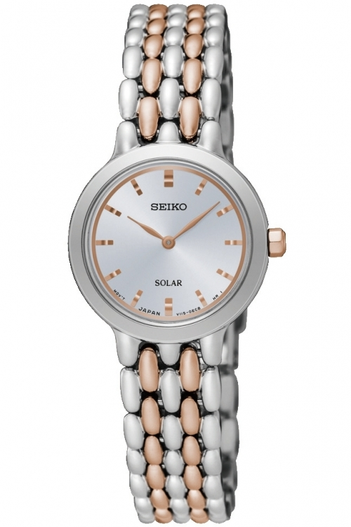 Image of  			   			  			   			  Ladies Seiko Dress Solar Powered Watch SUP351P1