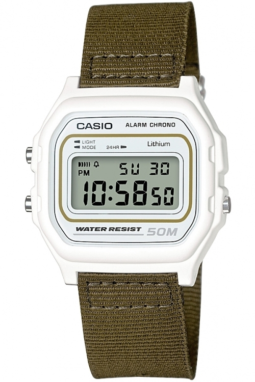 Image of  			   			  			   			  Casio Classic Collection Cloth Alarm Chronograph Watch