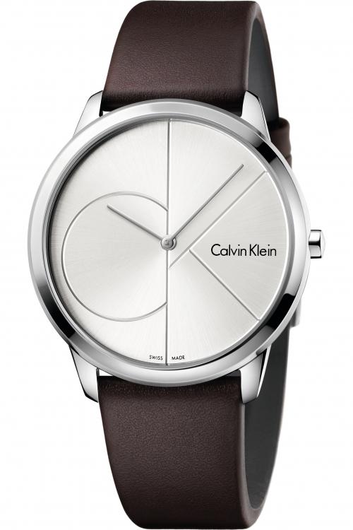 Ladies Calvin Klein Minimal 40mm Watch K3M211G6