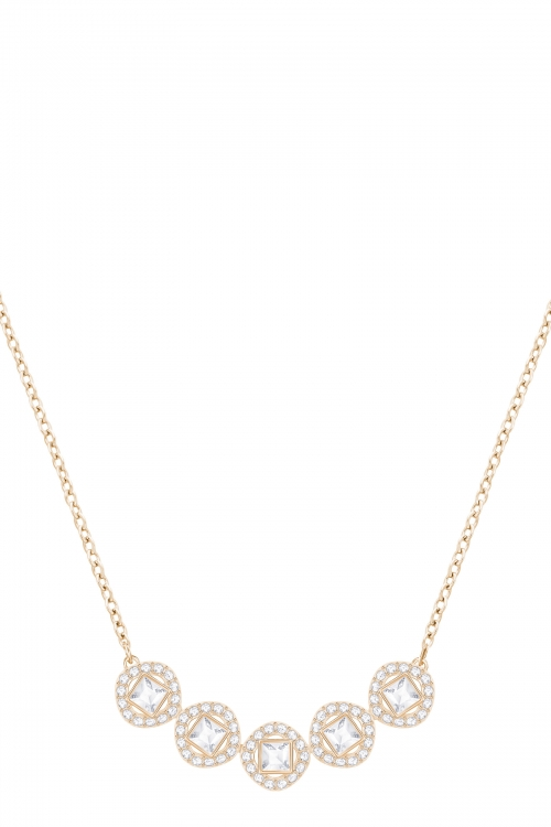 Image of            Ladies Swarovski Gold Plated Angelic Necklace 5351305