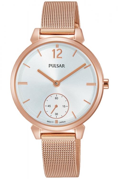 Image of            Ladies Pulsar Dress Mesh Watch PN4054X1