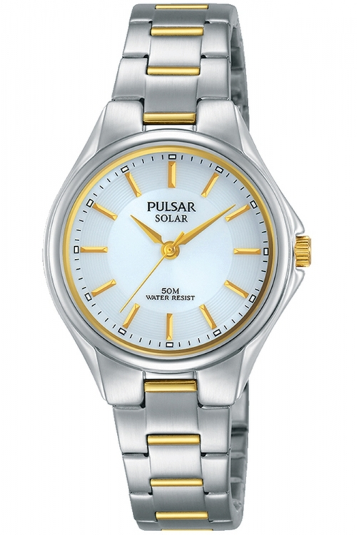 Image of  			   			  			   			  Ladies Pulsar Solar Solar Powered Watch PY5035X1