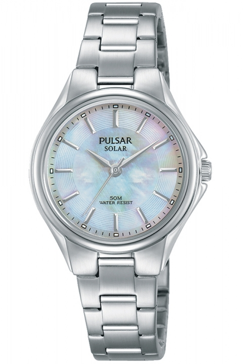 Image of  			   			  			   			  Ladies Pulsar Solar Solar Powered Watch PY5031X1