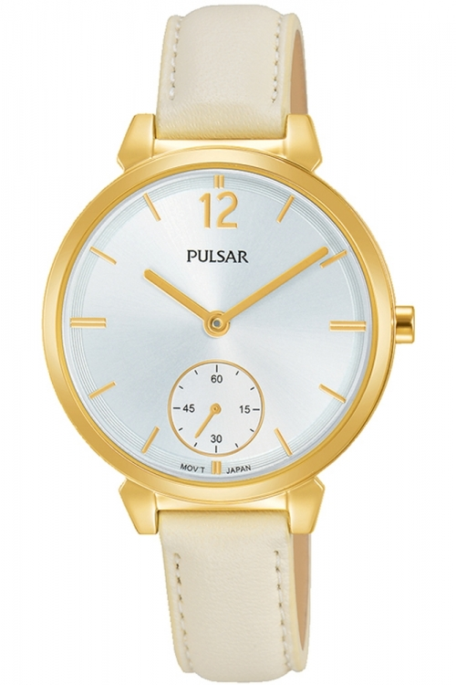 Ladies Pulsar Dress Leather Watch PN4058X1