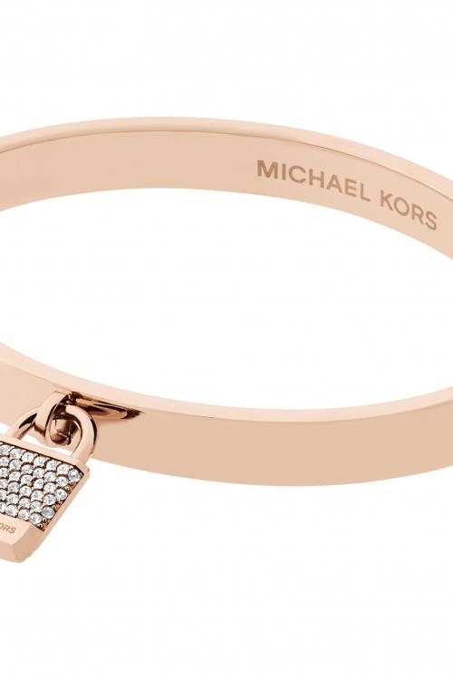 Ladies Michael Kors Rose Gold Plated Iconic Bracelet MKJ6356791