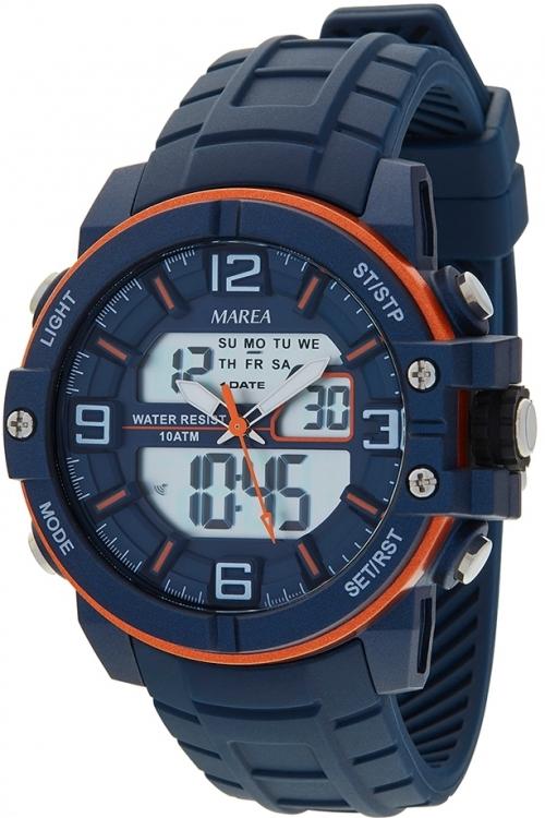 Mens Marea Alarm Chronograph Watch B25153/4