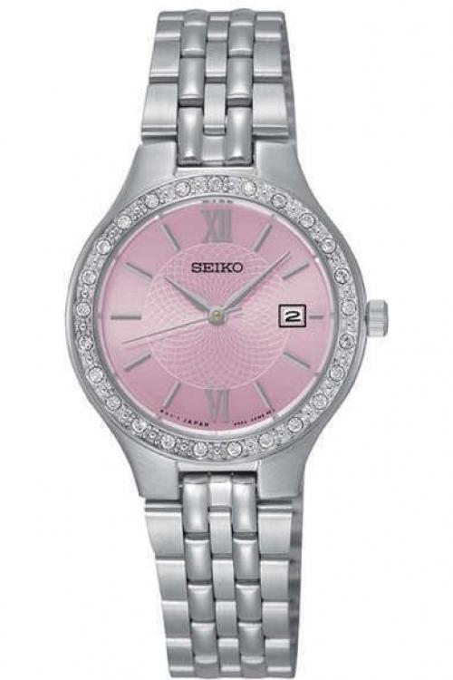 Image of            Ladies Seiko Dress Watch SUR765P9