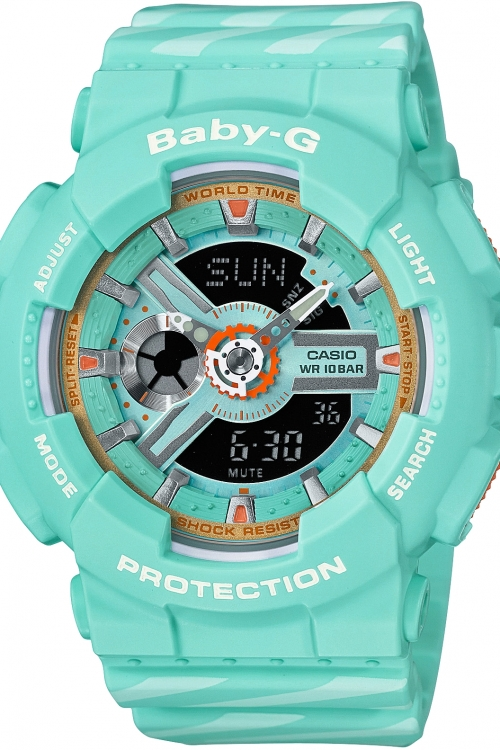 Image of            Casio Baby G Chance Alarm Chronograph Watch BA-110CH-3AER