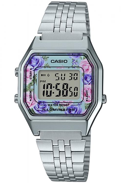 Image of            Casio Classic Floral Watch LA680WEA-2CEF