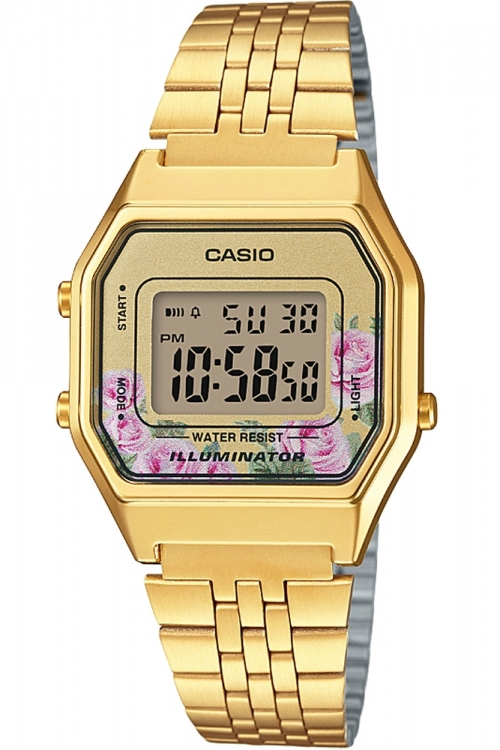 Image of            Casio Classic Floral Watch LA680WEGA-4CEF
