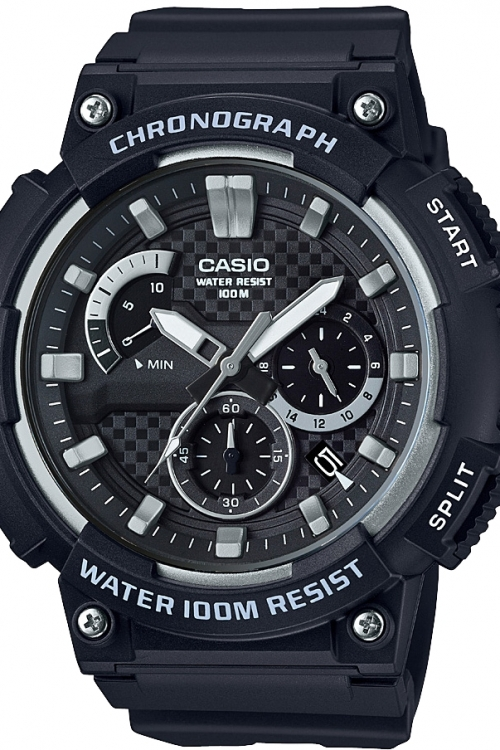 Image of  			   			  			   			  Casio Classic Chronograph Watch MCW-200H-1AVEF
