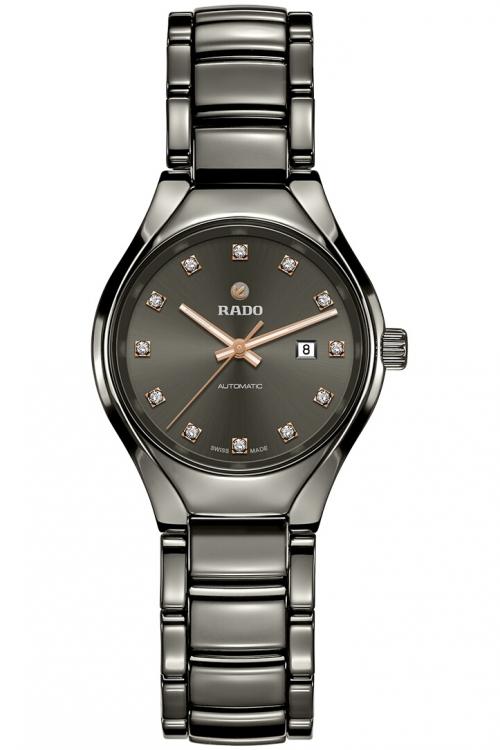 Ladies Rado True Ceramic Automatic Diamond Watch R27243732