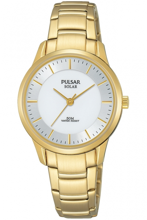 Image of  			   			  			   			  Ladies Pulsar Solar Powered Watch PY5042X1