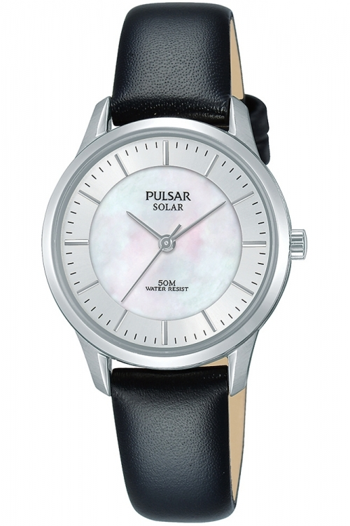 Image of  			   			  			   			  Ladies Pulsar Solar Powered Watch PY5043X1
