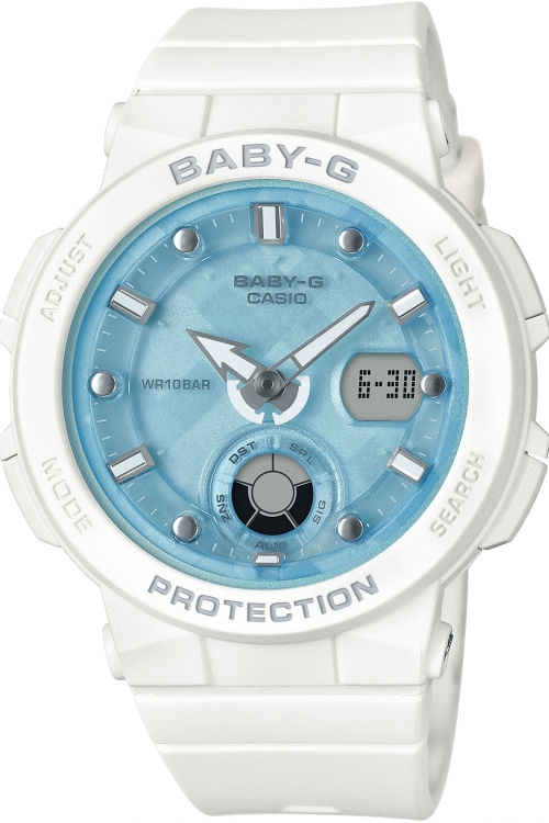 Image of            Casio Baby-G Beach Traveller Series Watch BGA-250-7A1ER