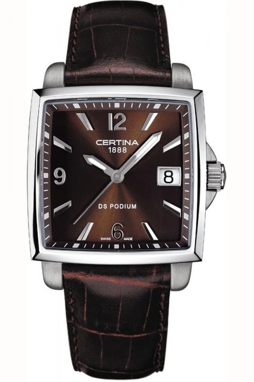Certina DS Podium Square  Watch C0013101629700
