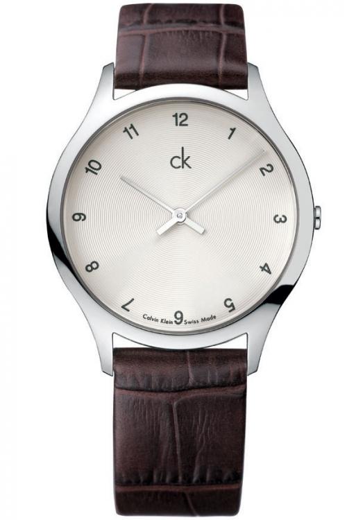 Mens Calvin Klein Classic Crocodile Watch K2621126