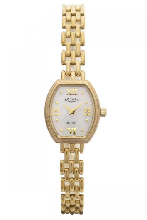 Image of  			   			  			   			  Ladies Rotary 9ct Gold Watch LB10212/07
