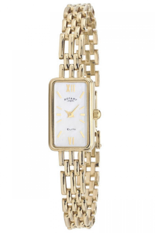 Image of  			   			  			   			  Ladies Rotary 9ct Gold Watch LB10215/07