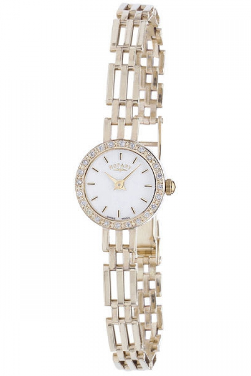 Image of  			   			  			   			  Ladies Rotary 9ct Gold Watch LB10225/02