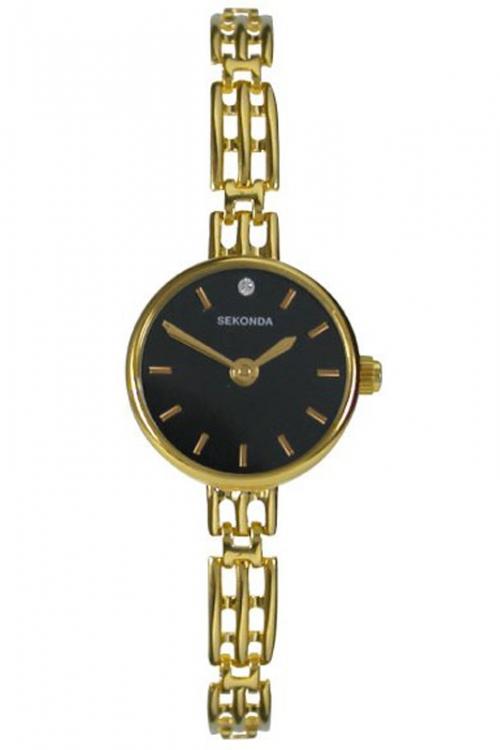 Image of            Ladies Sekonda 9ct Gold Watch 4702
