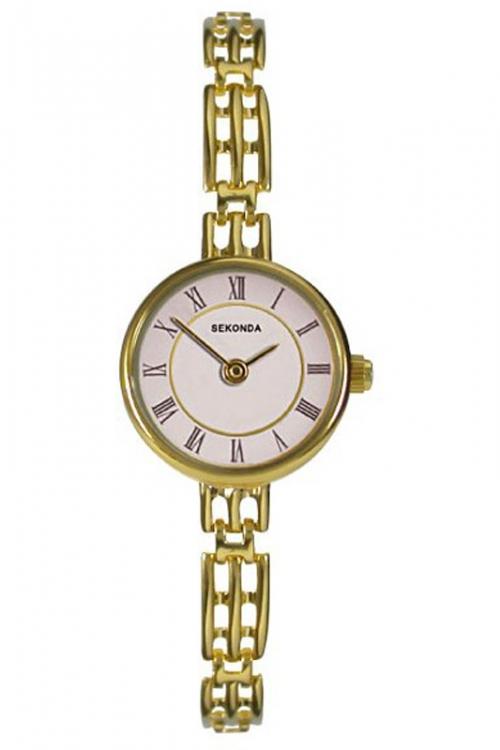 Image of            Ladies Sekonda 9ct Gold Watch 4701