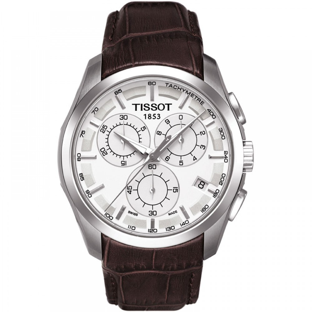 Mens Tissot Couturier Chronograph Watch T0356171603100