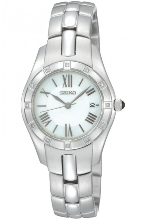 Image of            Ladies Seiko Diamond Watch SXDB53P1