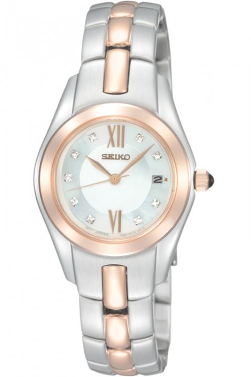 Image of            Ladies Seiko Diamond Watch SXDB56P1