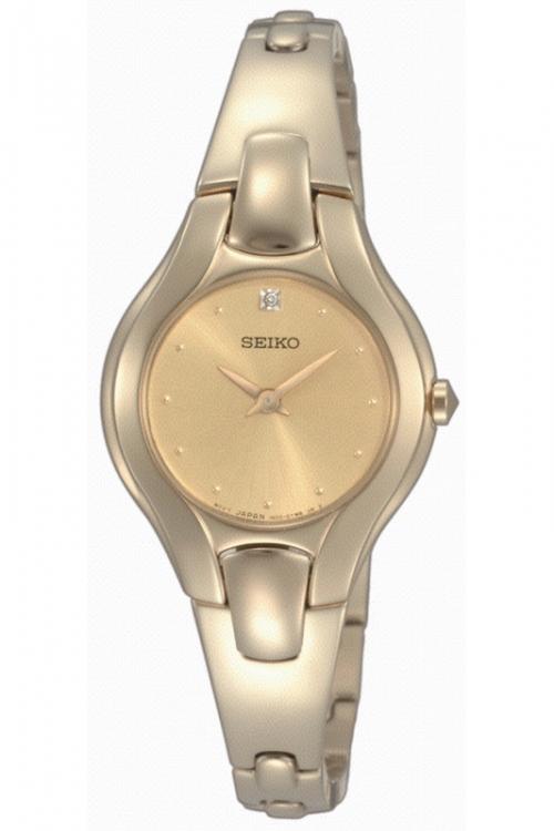 Image of            Ladies Seiko Diamond Watch SUJF88P9