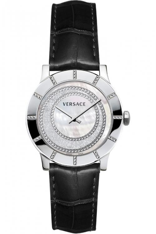Image of            Ladies Versace Acron Diamond Watch 78Q91SD98FS009