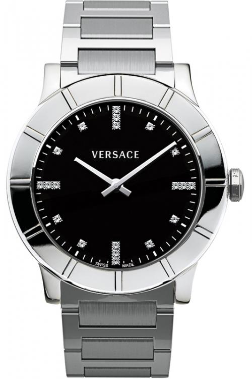 Image of            Ladies Versace Acron Diamond Watch 78Q99SD009S099