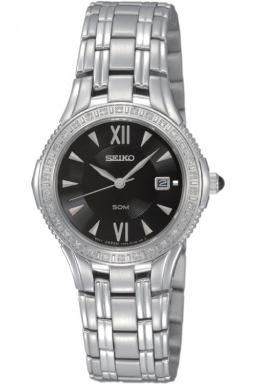 Image of            Ladies Seiko Diamond Watch SXDA83P9