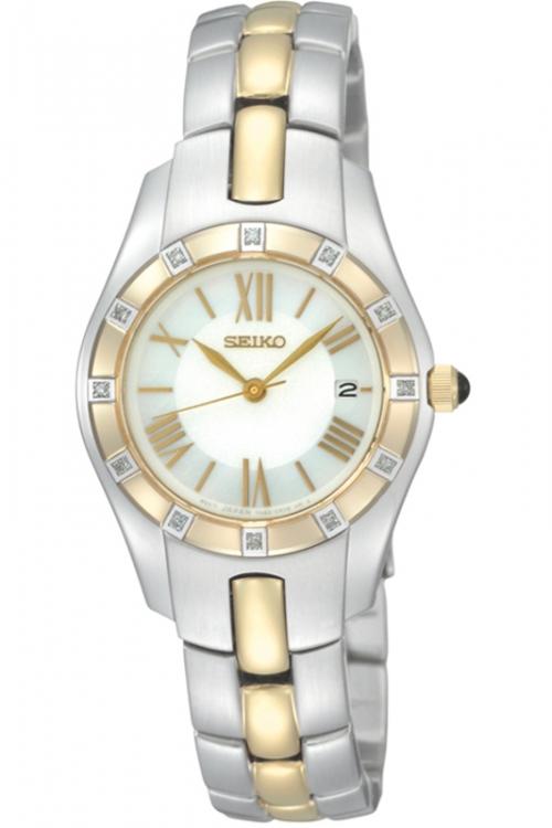 Image of            Ladies Seiko Diamond Watch SXDB54P1