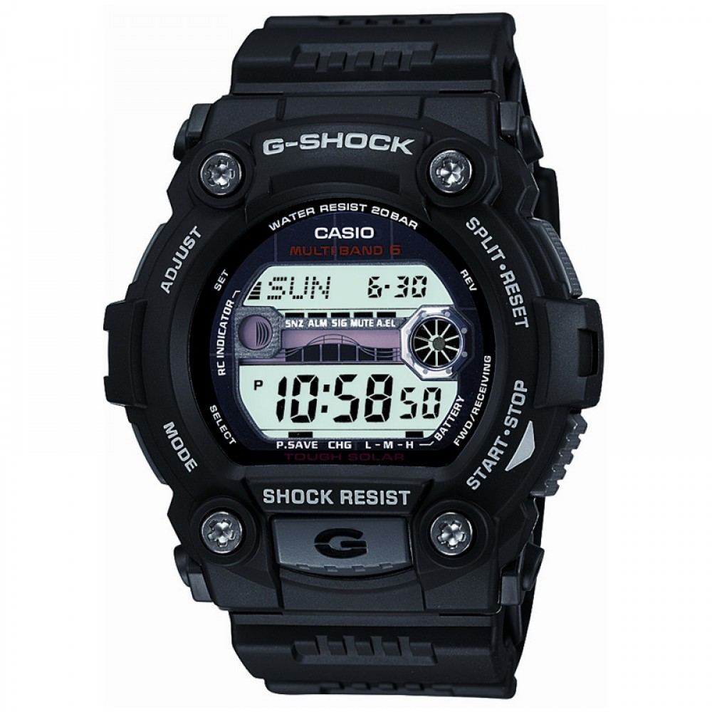 Mens Casio G-Shock G-Rescue Alarm Chronograph Radio Controlled ... 7da66ff9b