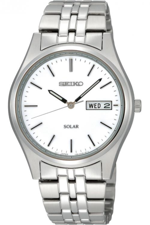 Mens Seiko Solar Powered Watch SNE031P1