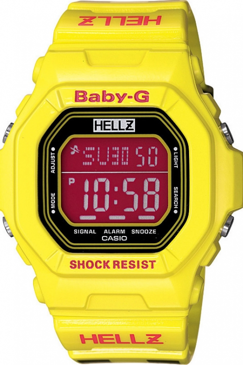 Image of  			   			  			   			  Casio Baby-G Hellz Edition WATCH BG-5600HZ-9ER