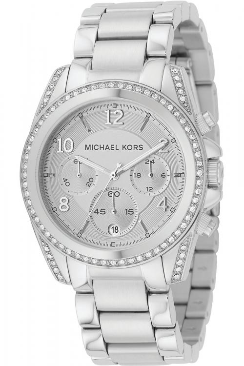 Image of            Ladies Michael Kors Blair Chronograph Watch MK5165