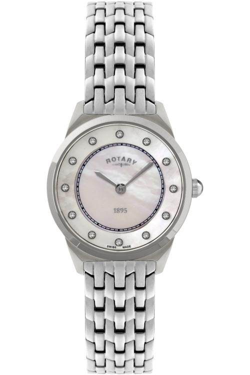 Image of            Ladies Rotary Ultra Slim Watch LB08000/02