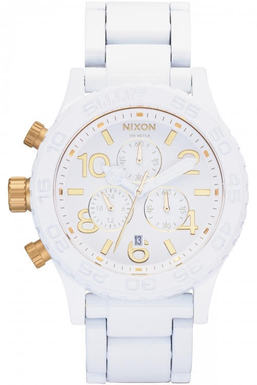 Image of  			   			  			   			  Ladies Nixon The 42-20 Chrono Chronograph Watch A037-1035