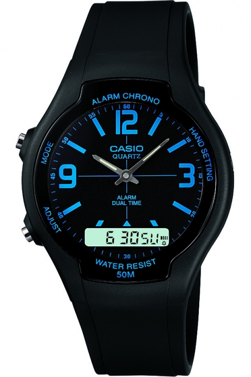 Image of            Casio Classic WATCH AW-90H-2BVEF